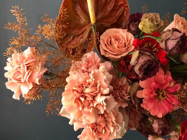 Request floral arrangements